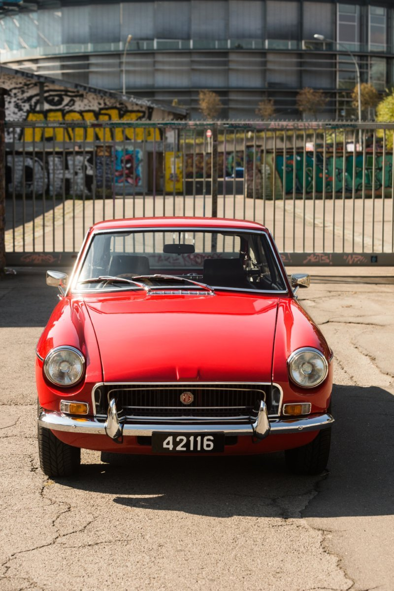 Lucy - 1970 MGB GT