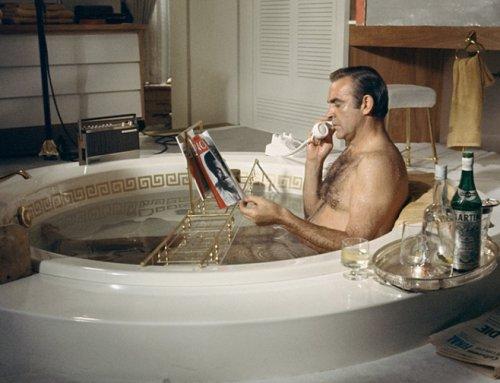Que fait-on dans son bain?