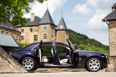 Suicide doors - Emily - Rolls Royce Ghost - Ansembourg Castle