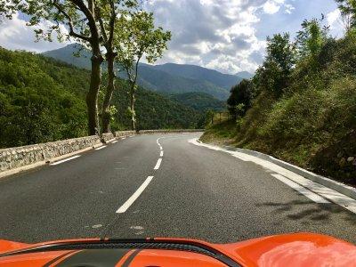 Road in the Parc Naturel Régional des Pyrénées Catalanes