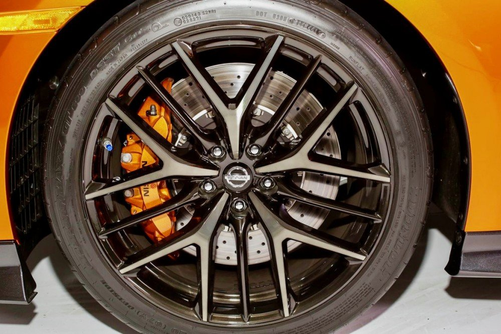 Kaida - 2017 Nissan GTR wheel
