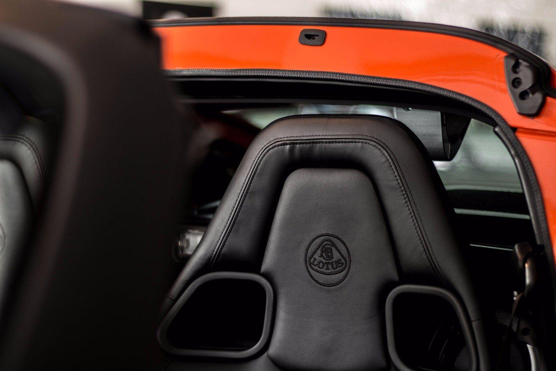 Lotus Exige S Roadster seat
