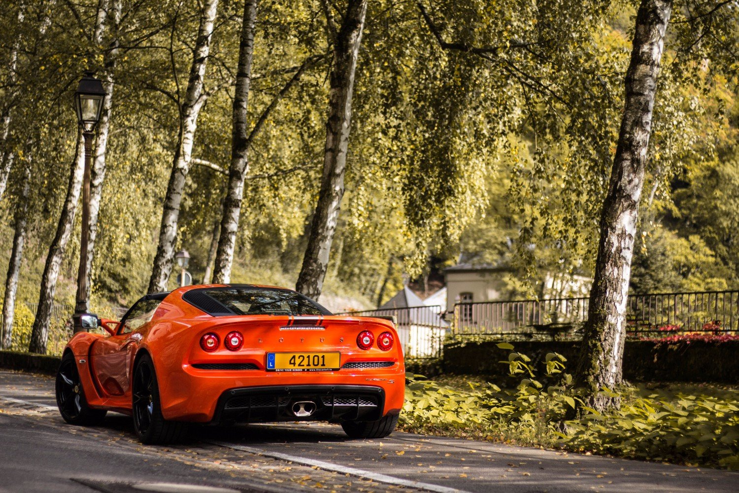 Lotus Exige S Roadster in Clausen