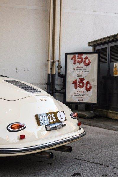 Refueling the 356 Speedster