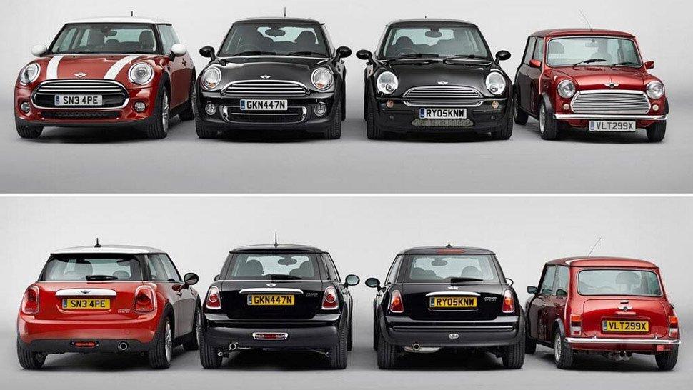 Mini Evolution 4 generations