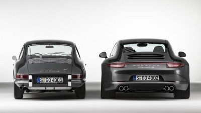 Porsche 911 Old vs New Back