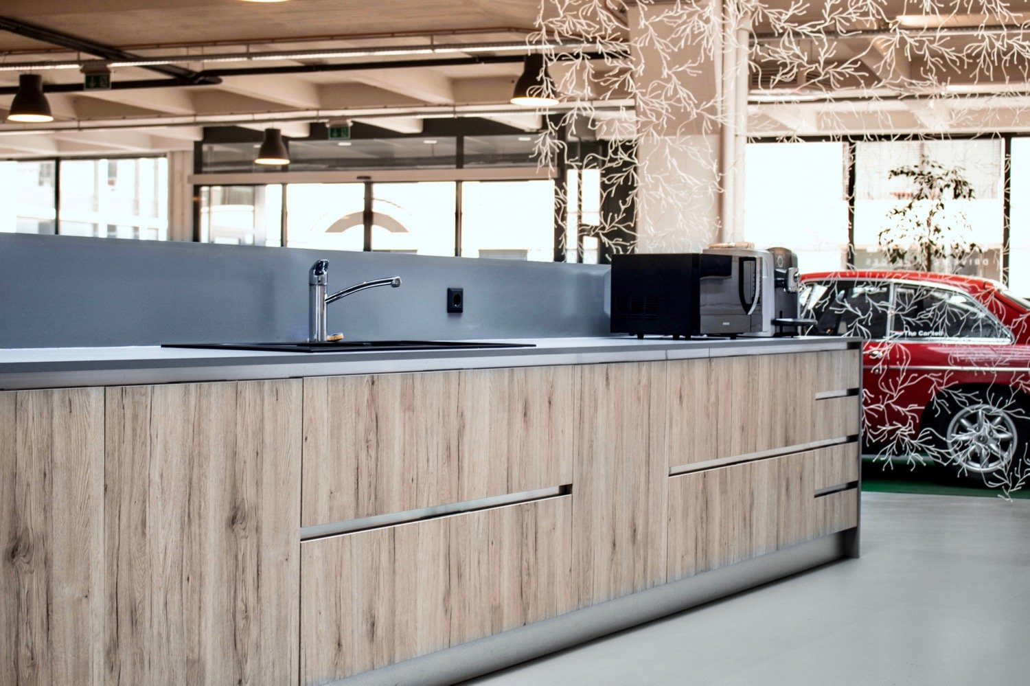 Clubhouse Bar Cupboards