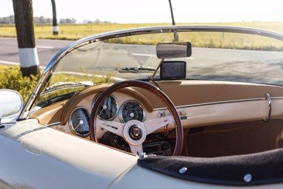 Interior cockpit | 356 Speedster | Replicar Hellas | RCH