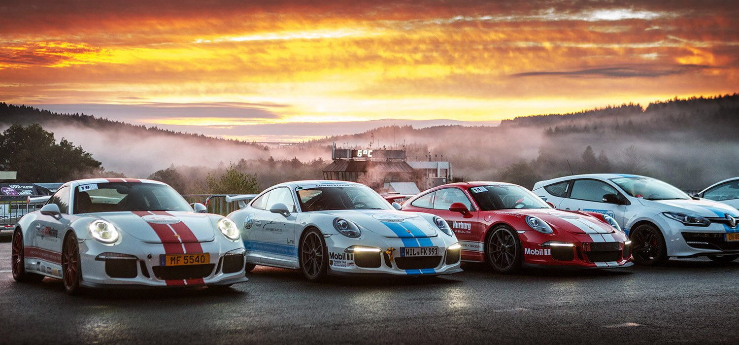 RSR Portfolio Image Lined up Cars Premium Trackday