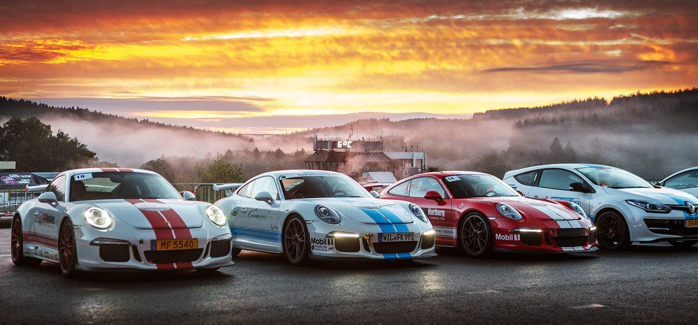 RSR Portfolio Image Lined up Cars Premium Trackday