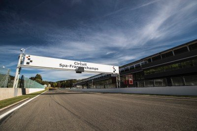RSRSpa - Spa Francorchamps Start line