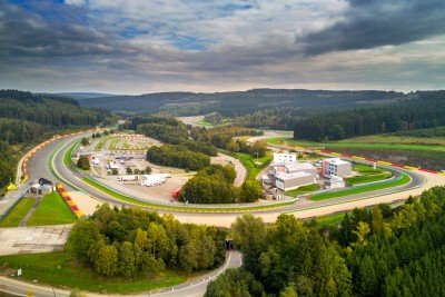 RSRSpa - Circuit from the air - Spa Francorchamps