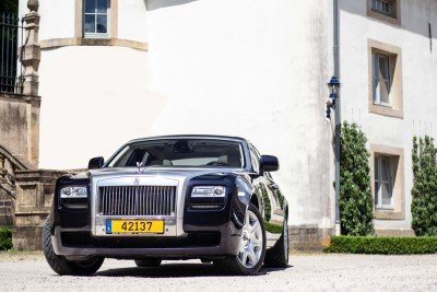 Front in court - Emily - Rolls Royce - Ansembourg