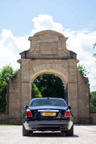 Back in court - Emily - Rolls Royce Ghost - Ansembourg