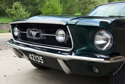 Tilly - 1967 Ford Mustang Convertible V8 - nose