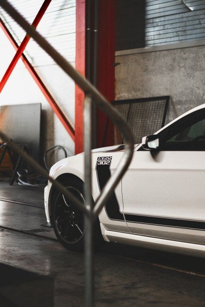 Crystal - 2013 Ford Mustang Boss 302 - front quarter