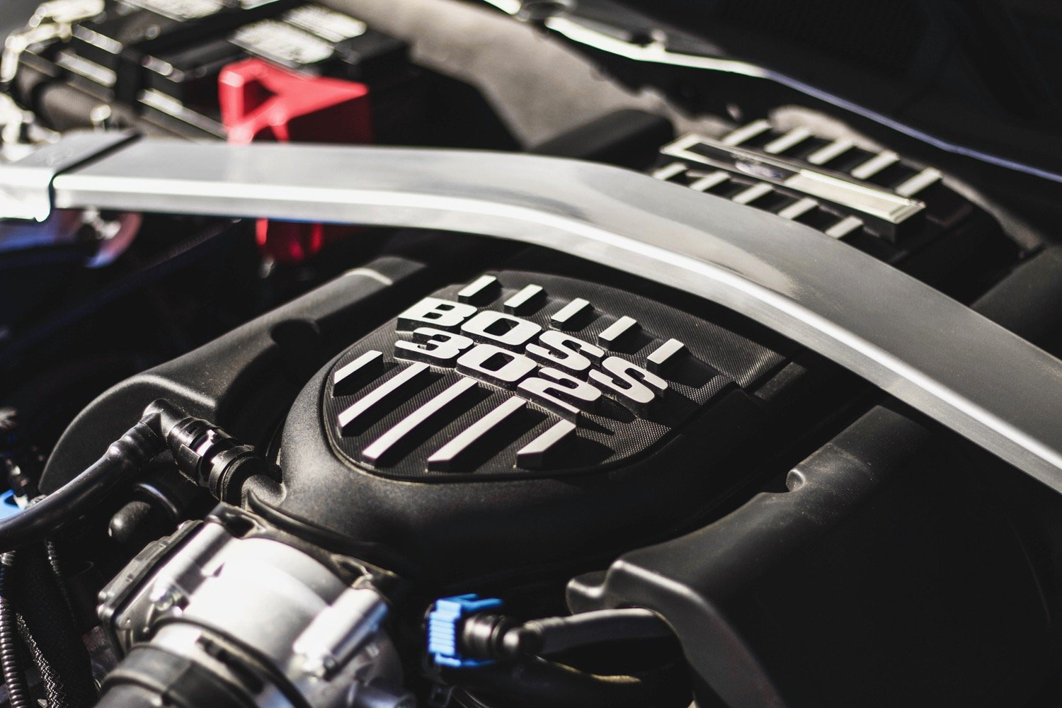 Crystal - 2013 Ford Mustang Boss 302 - engine