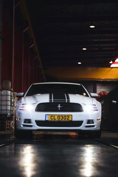 Crystal - 2013 Ford Mustang Boss 302 - front straight