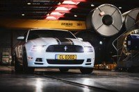 Crystal - 2013 Ford Mustang Boss 302 - front mean