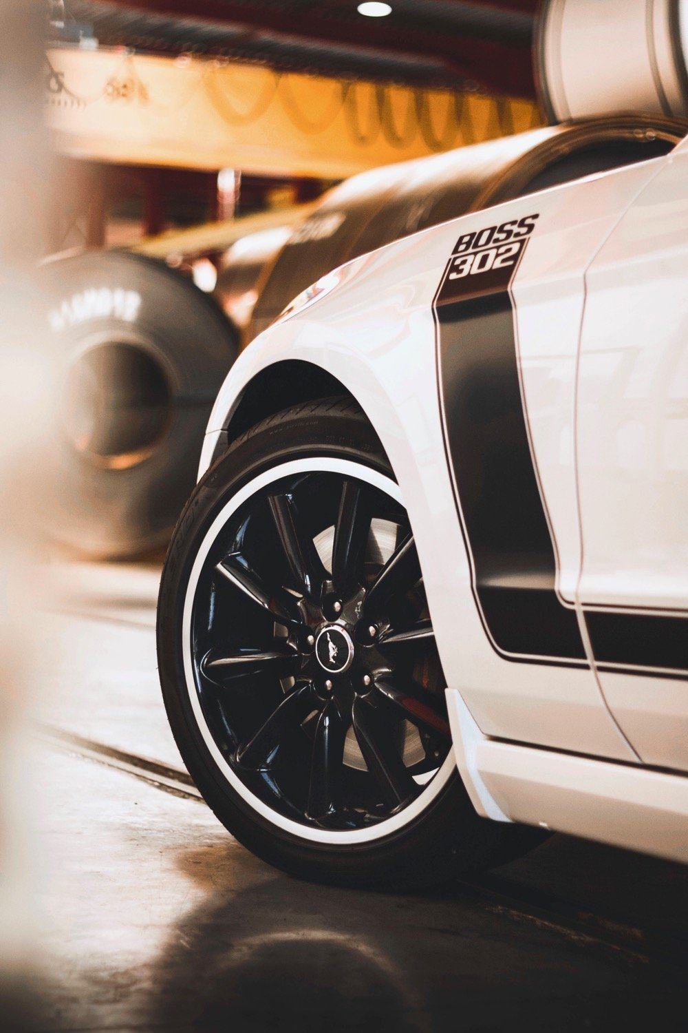 Crystal - 2013 Ford Mustang Boss 302 - front wheel