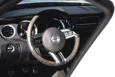 Crystal - 2013 Ford Mustang Boss 302 - Steering wheel