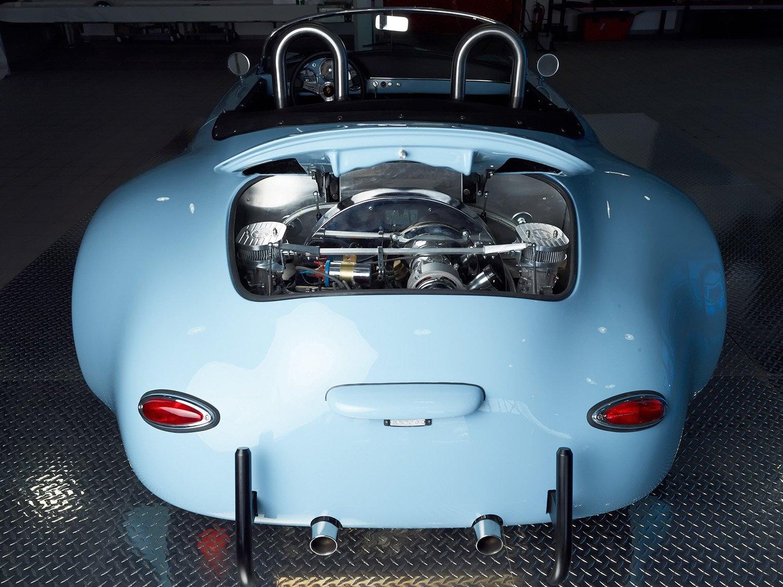 RCH 356 Wide body blue back engine