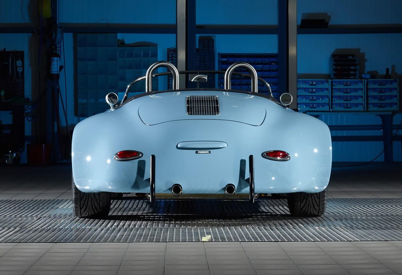 RCH 356 wide body blue backside