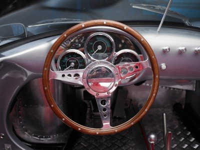 RCH 550 Steering wheel