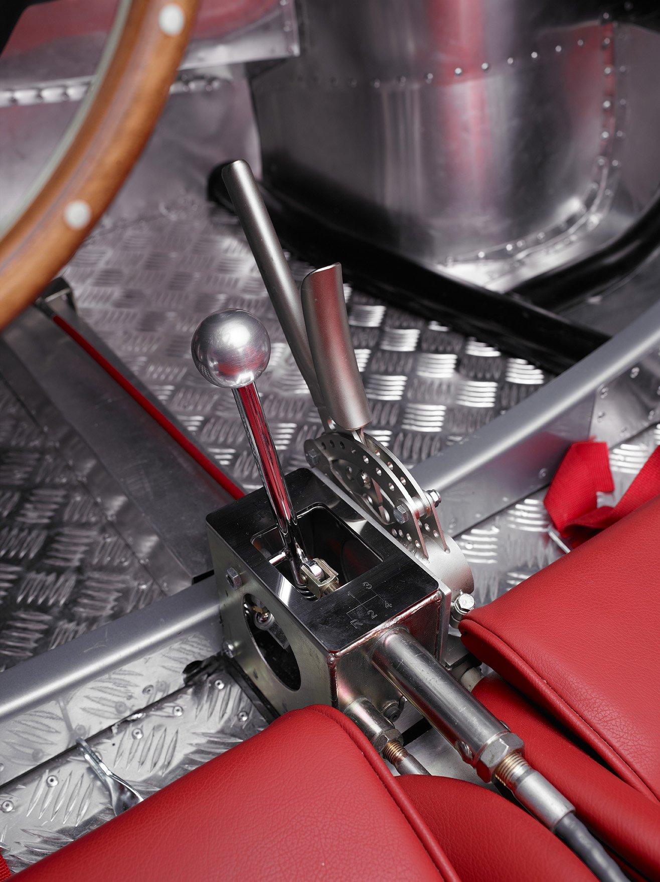 RCH 550 gear lever