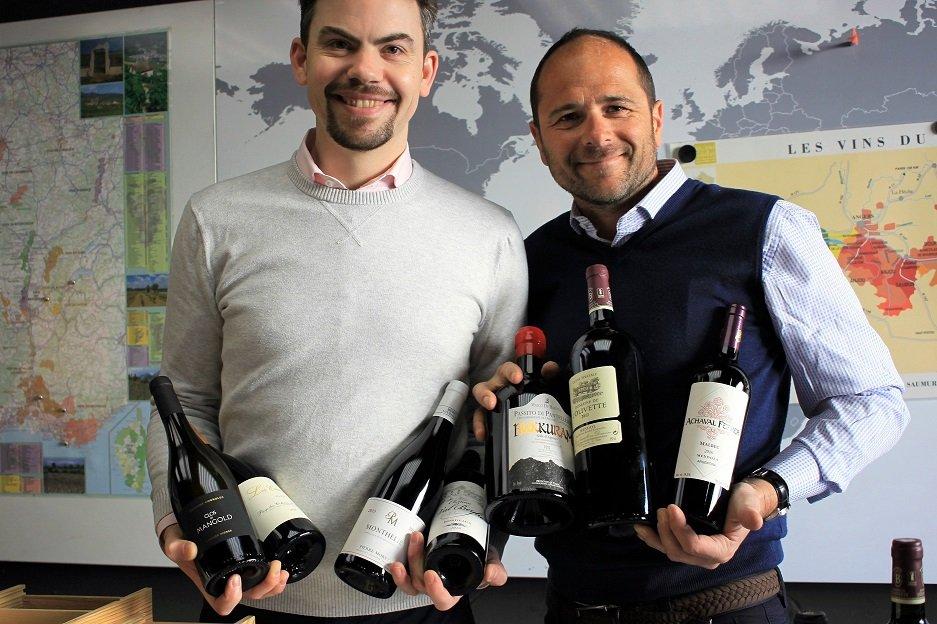 Anthony and Gildas | In Vino Gildas