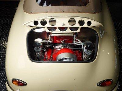 RCH 356 Cream Engine Bay