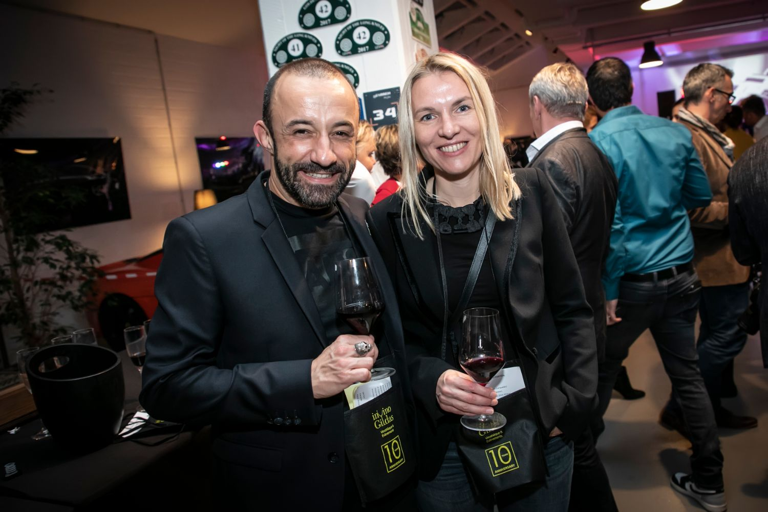 In Vino Gildas 10 year anniversary - Smiling Faces - Photo by Laurent Antonelli