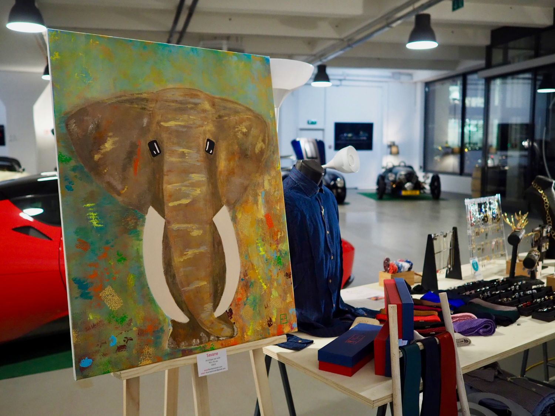Art exhibition by Florefashionart