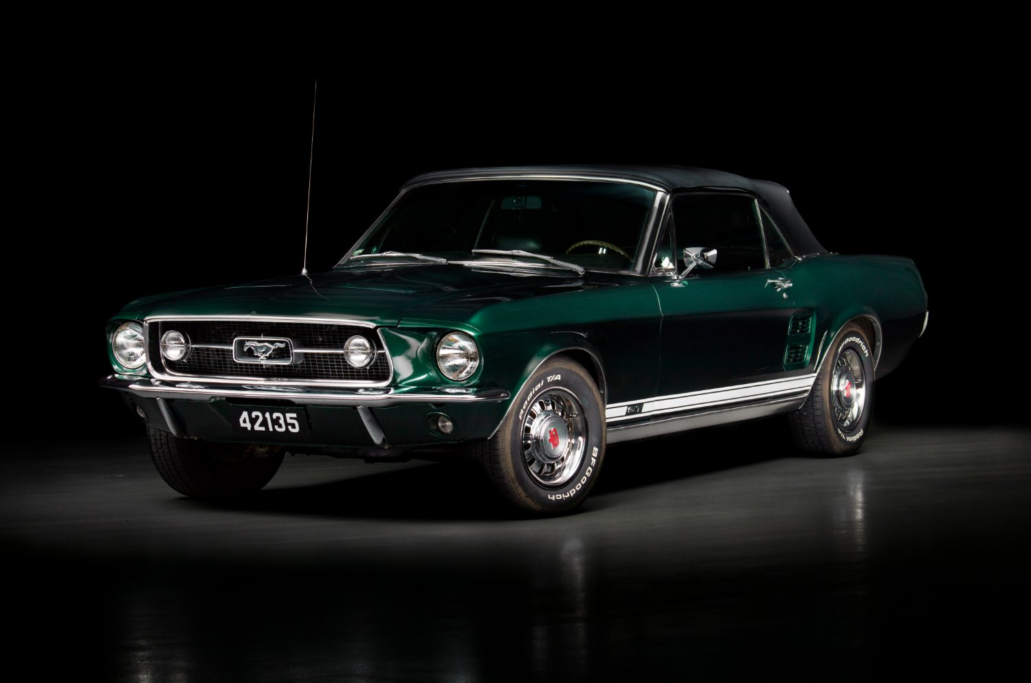 Tilly |1967 Ford Mustang GT Convertible |Auto Reflection by Baptiste Griselle