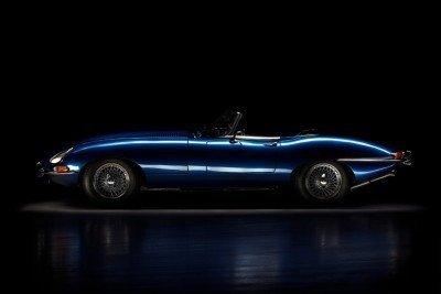 Elisabeth |1965 Jaguar E-type Roadster |Auto Reflection by Baptiste Griselle