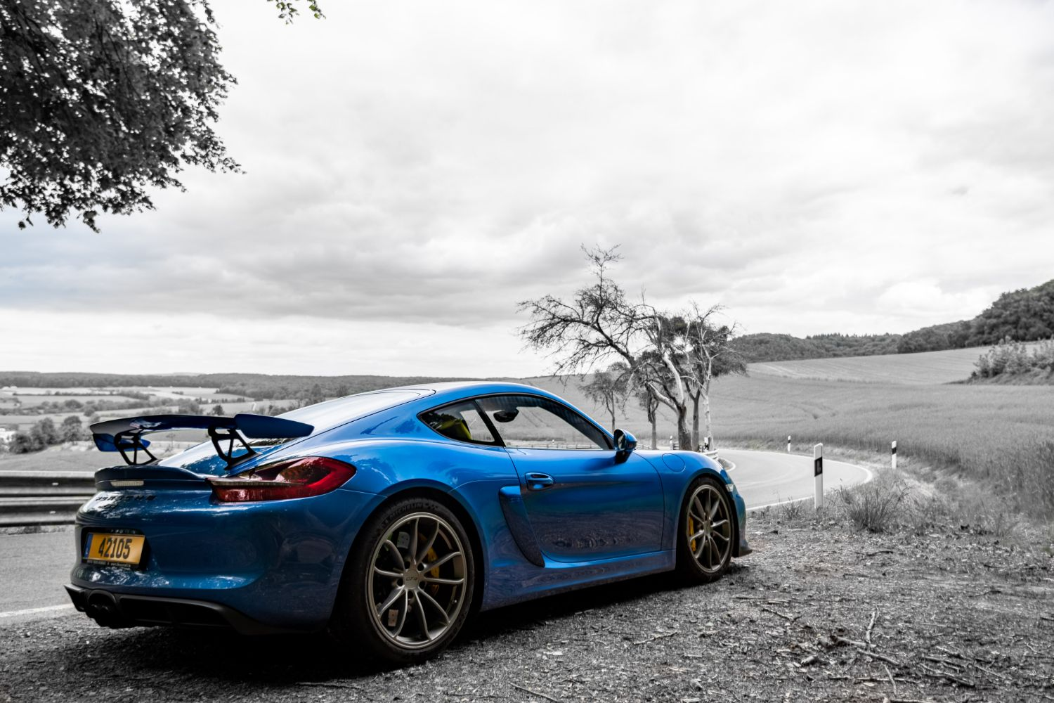 Porsche Cayman GT4 Clubsport - Hannah - photo by Philippe Hoett