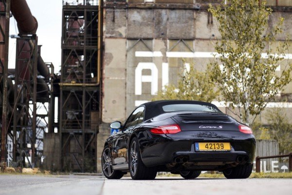 Photoshoot with Fares Hammoud The Cartell Porsche 911 S Convertible 997 1