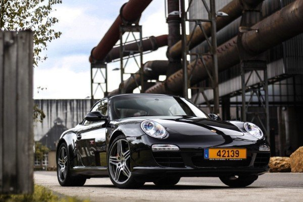 Photoshoot with Fares Hammoud The Cartell Porsche 911 S Convertible 997 2