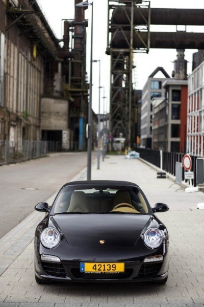 Photoshoot with Fares Hammoud The Cartell Porsche 911 S Convertible 997 3