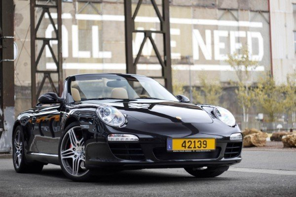 Photoshoot with Fares Hammoud The Cartell Porsche 911 S Convertible 997 6