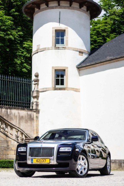 Photoshoot with Fares Hammoud The Cartell Rolls Royce Ghost Ansembourg Castle 1
