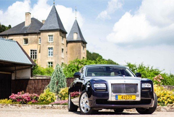 Photoshoot with Fares Hammoud The Cartell Rolls Royce Ghost Ansembourg Castle 3